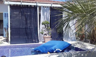 Photo for Toulon Independent studio 25 m2 in villa with pool