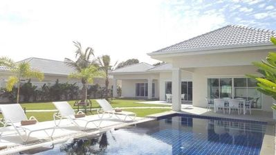 Photo for Hua Hin pool villa with 4 bedrooms (L27)