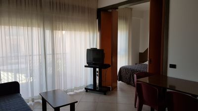 Photo for Apartment overlooking the Gulf of Mondello