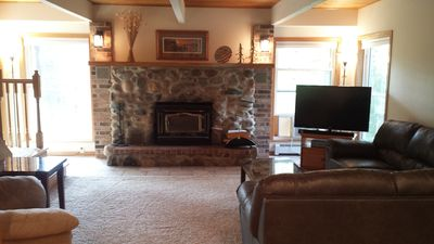 Photo for Eagle River Vacation Home. Peaceful. Spacious. Many Amenities.