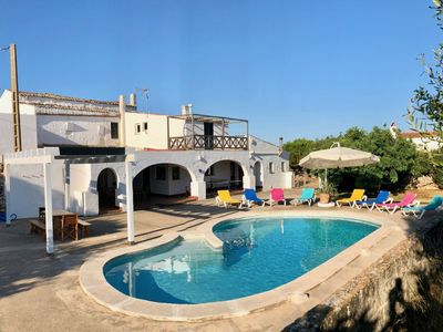 Photo for Finca for 8-9 people in the near of Ciutadella