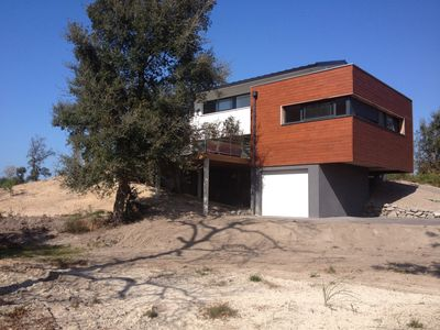 Photo for VILLA OF ARCHITECT WITH SWIMMING POOL HEATED IN MOLIETS-ET-MAA IN THE LANDES