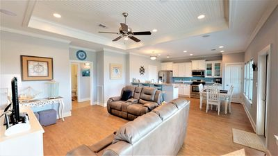 Photo for New Listing! Beach Bum Bungalow - Beach View and Short Walk to The Beach!!