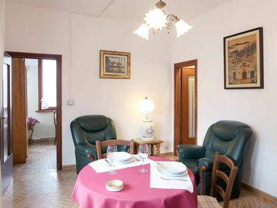 Photo for Lovely apartment for 3 guests with WIFI, TV, pets allowed and parking