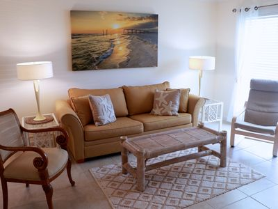 Photo for Clean, Airey, Artistic, Tropical, Townhouse With A Gulf View No Hurricane Damage
