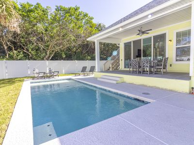Photo for New Home  ~ Heated Pool ~ Professionally Decorated ~ Steps to the Beach!!!