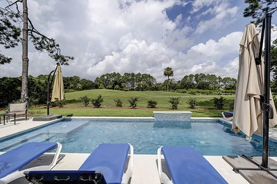 Private Pool and Golf View