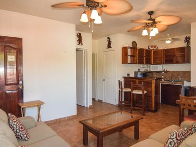 Photo for Comfortable and cozy 2 bedr condo. On the beach and just steps from 5th Av!