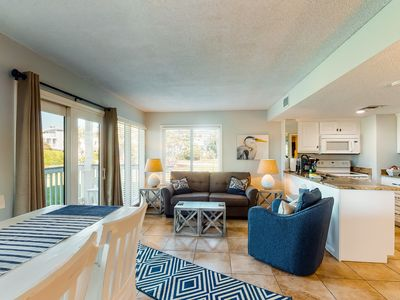 Photo for NEW LISTING! Ground-floor condo w/ shared pools, hot tub, & beach access
