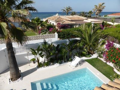 Photo for Sunny Beach Villa (Marbesa) Marbella with fantastic sea views, private pool