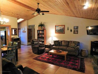Photo for Rendezvous Cabin, beautiful updated cabin, sleeps 8