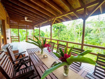 Photo for Luxury 2BR💙 Ocean, Jungle, Sunsets + Walk to Surf