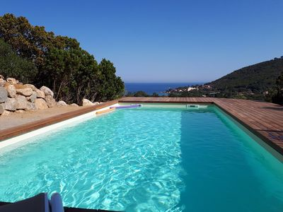 Photo for VILLA JEREMIE - PRIVATE POOL - SEA VIEW - TARCO