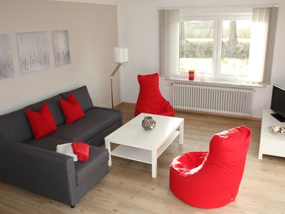 Photo for New 2018! 90 sqm sunny apartment with garden use