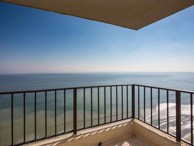 Photo for Oceanfront Corner Unit, Indoor Pool & Hot Tub for Year Round Fun AT1606