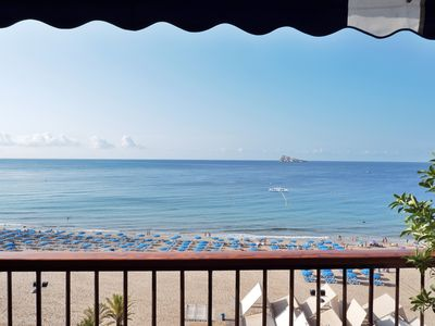 Photo for Incredible first line luxury apartment on the Levante beach of Benidorm