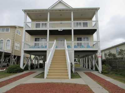 Photo for A Seacret Hideout - Beautiful Ocean Views with Beach Access Directly Across the Street!