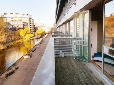 Photo for Stylish Loft by the Canal in Angel