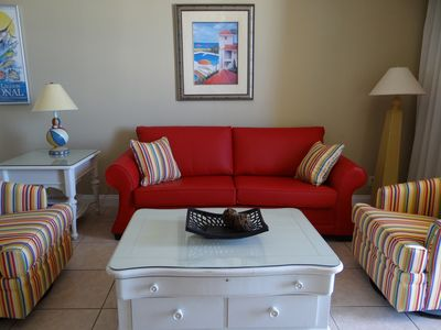 Calypso-Great Fall Rates-1 BR/2 BA/Bunk,3rd Floor, Beach Chairs Included