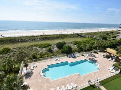 Photo for Litchfield By the Sea - Oceanfront Condo -Pool and Hot Tub