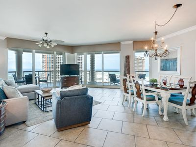 Photo for Top Of The World - Large Three Bedroom Condo With Beautiful Gulf Views.