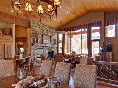 Photo for 6 BR Luxury Home in Deer Valley's Snow Park Base Area
