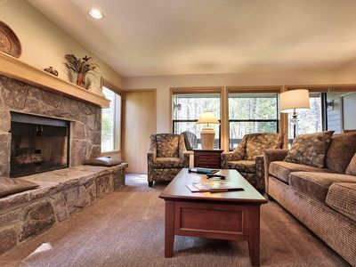 Photo for Warm Home near Sunriver Village Mall w/ WiFi, Hot Tub, BBQ & Complex Pool