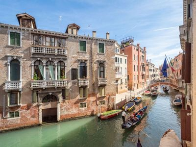 Photo for Luxury Campo Santa Maria Formosa, love for art and for Venice, lots of light and views of the canals
