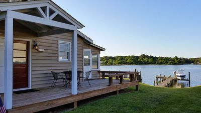 Waverly Cottage - waterfront property on Cobb Island, MD