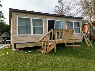 Photo for Comfy year round rental cabin at Lake Osakis Minnesota !
