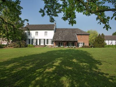 Photo for Traditional half-timbered farmhouse in the beautiful, hilly landscape of South-Limburg.