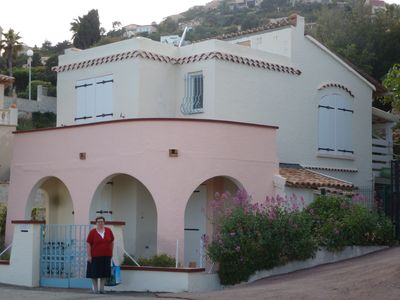 Photo for Beautiful seaside villa with room for 7 people in Anthéor