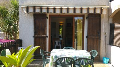 Photo for Family House 3 rooms Swimming pool Parking WIFI 2 kms Sea Villeneuve Loubet