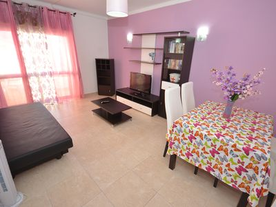 Photo for Apartment with pool + WIFI and near the beach - Q