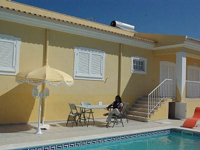 Photo for Detached Villa with 4 bedrooms, pool, garden, barbecue, quiet area