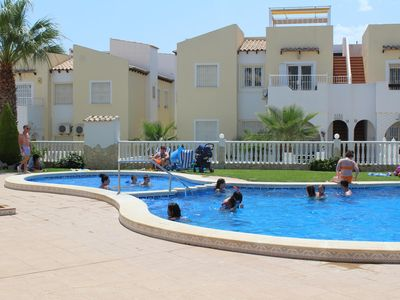 Photo for Villamartin Apartment, Panorama Golf, with Roof Terrace