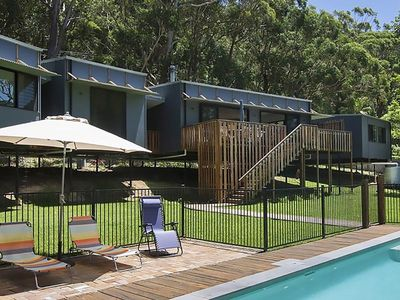 Austinmer Bush Beach House - custom designed for fun relaxing family holidays