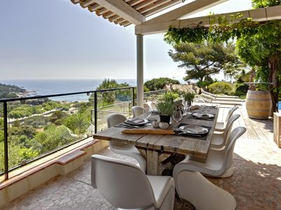 Photo for Le Grand Bleu - Villa for 8 people in Ramatuelle