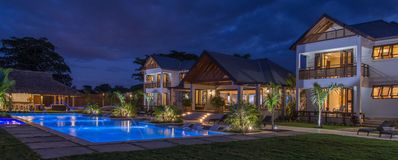 Photo for ULTIMATE LUXURY, BEACHFRONT, FULLY STAFFED, TENNIS COURT, GYM, LOTS OF ACTIVITES!