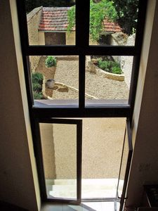 Patio door and window