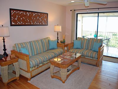 Photo for Gulf Beach 204, Beautiful 2 Bedroom, 2 Bathroom Top Floor Gulf Front Condo