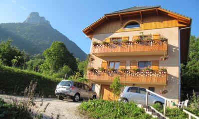 Photo for Gîte B & B room n ° 2 (2 places) - Between lakes and mountains - Chez Louise