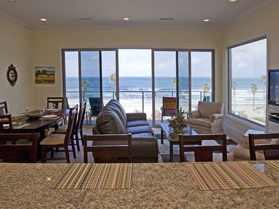 Photo for Ocean View, steps to the sand, WiFi minutes walk to Downtown Great for Families