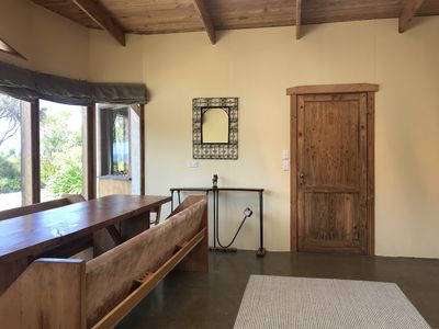 Photo for Private retreat for groups in stunning native bush with sea views.