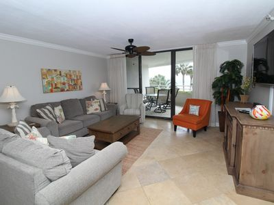 Photo for Eden East 101 - Beachfront Condo with Upscale Amenities & Fab Views!