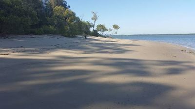 Photo for Pet Friendly Peacefull Island W'front home ,crabbing ,kayaking, bike ridin