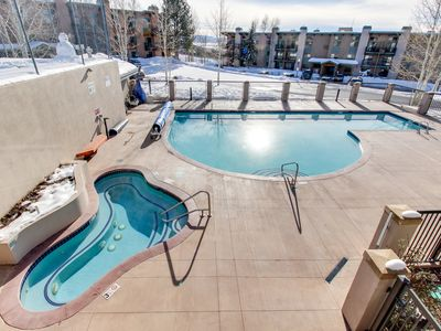Photo for Ski-in/Ski-Out, Outdoor Pool, Hot Tub, Tennis, Sauna, & Gym