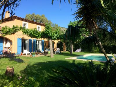 Photo for A Provencal villa with pool