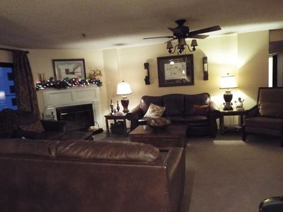 Enjoy all new furniture in a spacious living area! This condo is 1900 sq. feet!