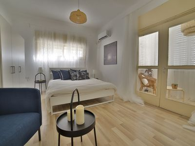 Photo for Luxury Apartment in Tel Aviv. A big bedroom Gordon 20 Apartment 4